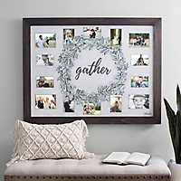 American Artist Gather Wreath Photo Collage