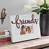 Friends Galvanized Cutout Picture Frame, 4x6
