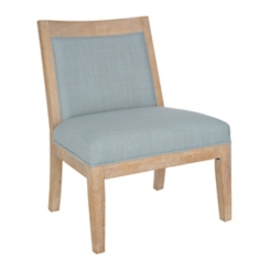 Distressed Coastal Accent Chair