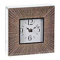 Gold Burst Sparkle Tabletop Clock