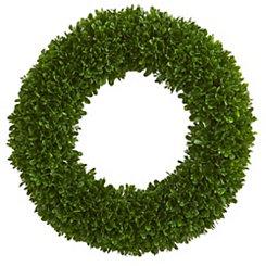 Tea Leaf Wreath