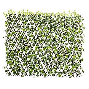 Expandable Artificial English Ivy Fence