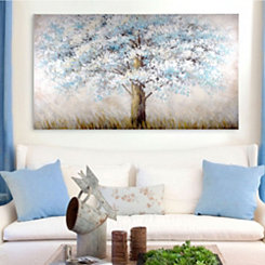 Solitude Tree Landscape Canvas Art Print