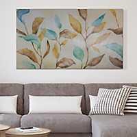Watercolor Branches Canvas Art Print