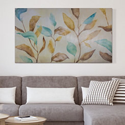 Watercolor Branches Canvas Art Print