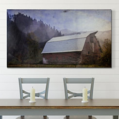 Antique Farmhouse Barn Canvas Art Print