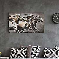 Running Wild Horses Canvas Art Print