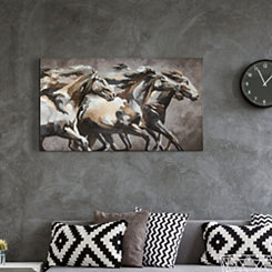 Running Wild Horses Canvas Art Print