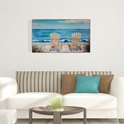 Coastal Serenity Canvas Art Print