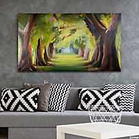 Deserted Forest Canvas Art Print