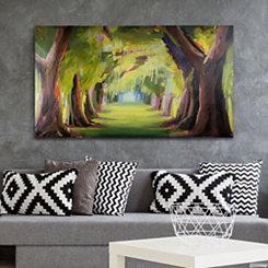 Deserted Forest Canvas Art Print