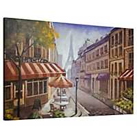 Paris Cafe Canvas Art Print