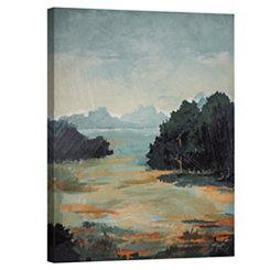 Rough Landscape Canvas Art Print