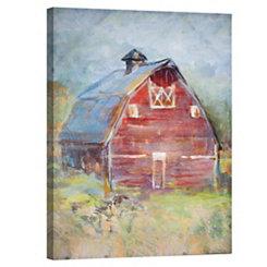 Rustic Red Barn Canvas Art Print