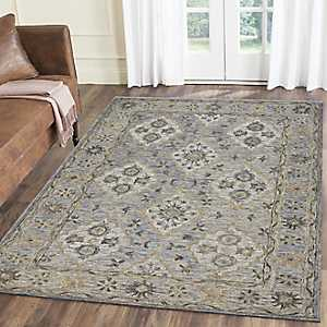 Blue Modern Traditions Area Rug, 5x8