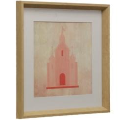 Pink Princess III Framed Art Print