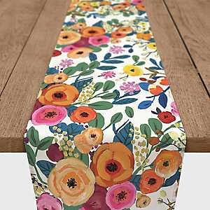 Floral Bursts Table Runner