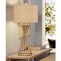 Brass Wire Table Lamp