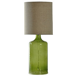 Meadow Seeded Glass Table Lamp