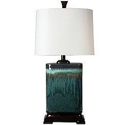 Carolina Blue Ceramic Table Lamp