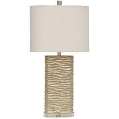 Sandstone Cream Table Lamp