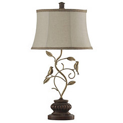 Bird on a Branch Table Lamp