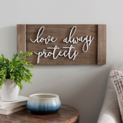 Love Always Protects Plaque
