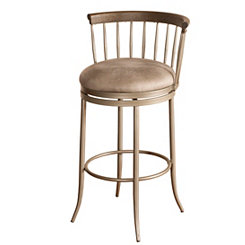Canyon Barrel Back Swivel Bar Stool