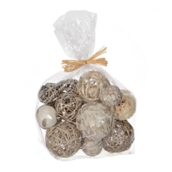 Gold and Ivory Orb Mix