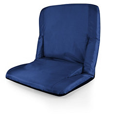 Venice Portable Reclining Navy Stadium Seat