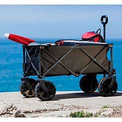 Black Folding Utility Adventure Wagon