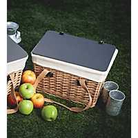 Natural Canasta Willow Picnic Basket