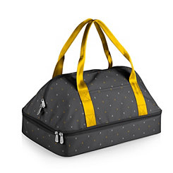 Gray and Yellow Potluck Casserole Tote