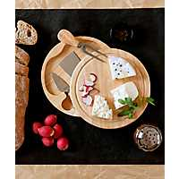 Brie Cheese Board with Tool Set
