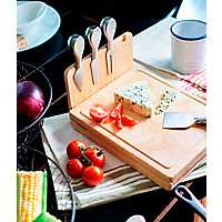 Asiago Cheese Board with Tool Set