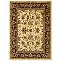 Red Oriental Area Rug, 8x10