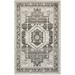 Taupe Medallion Area Rug, 8x10