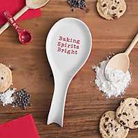 Baking Spirits Bright Spoon Rest