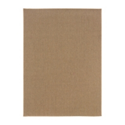 Sand Kara Solid Outdoor Accent Rug, 2x4