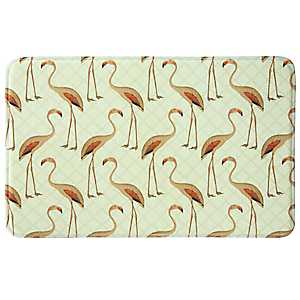Floridian Flamingo Memory Foam Kitchen Mat