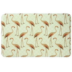 Floridian Flamingo Memory Foam Kitchen Mat