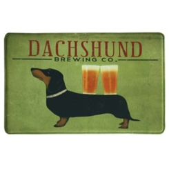Dachshund Brewing Memory Foam Kitchen Mat