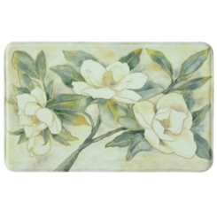 Magnolias Memory Foam Kitchen Mat