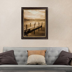 Sepia Toned North Sky Framed Art
