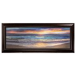 Malibu Shoreline Framed Canvas Art