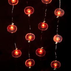 Halloween Jack O' Lantern LED String Lights