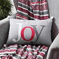 Multicolor Pom Pom Joy Accent Pillow