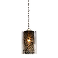 New Frontier Mercury Glass Pendant Light