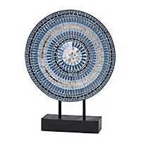 Blue Mosaic Tile Charger