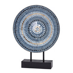 Blue Mosaic Tile Charger